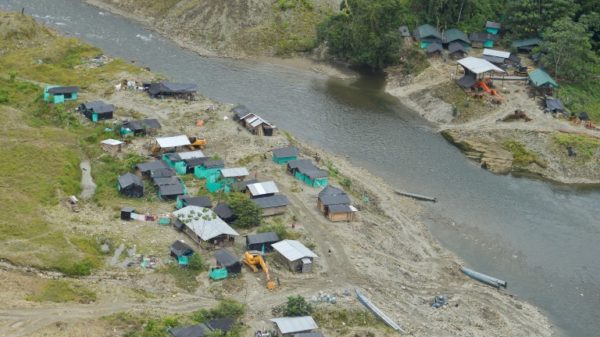 Illegal gold mining on Colombia's rivers on the rise: UN