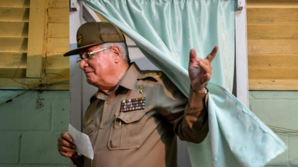 US sanctions Cuba defense minister for repressing protests