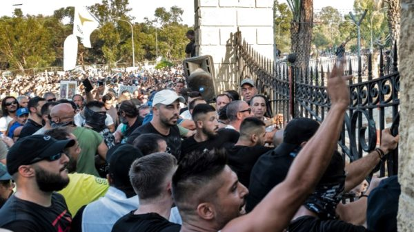 Protesters attack Cyprus TV over Covid measures, vaccines
