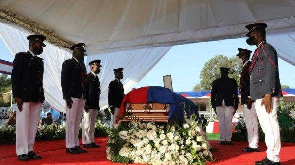 Haiti says farewell to its slain president