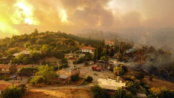 Fires rage across southern Europe, forcing hundreds to evacuate