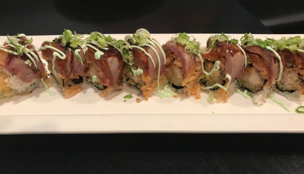 Gangnam Style Roll at Sushi Vogue
