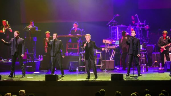 Frankie Valli & The Four Seasons performing live at The Paramount
