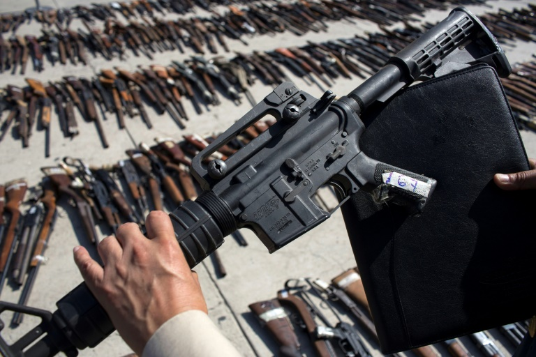 Mexico puts firearm flows high on agenda with US
