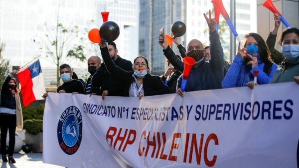 Workers at world's biggest copper mine in Chile agree to strike