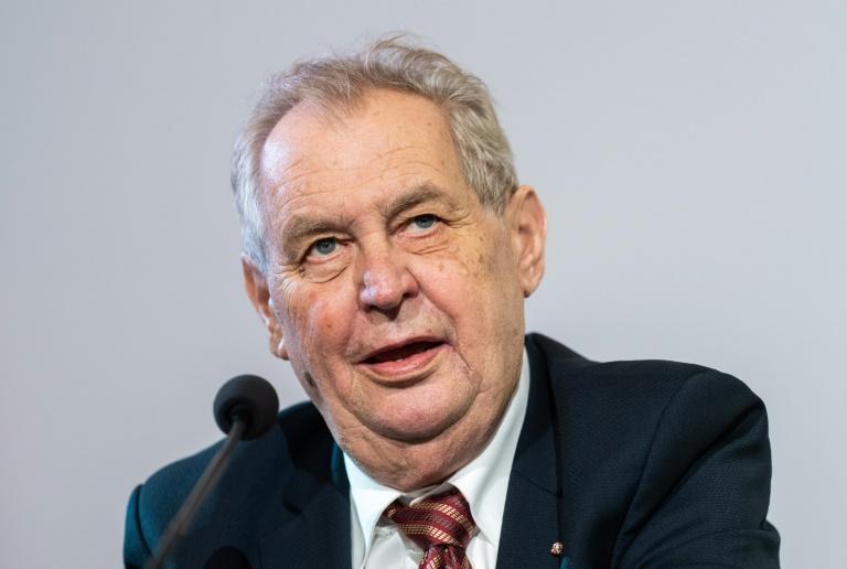 Czech president hospitalised to get in shape