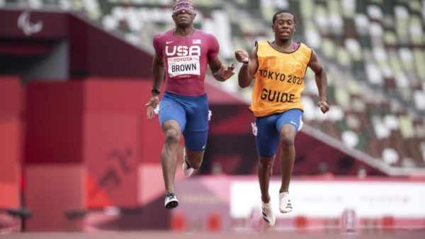 In synch: the partnership of Paralympic guide running