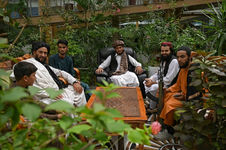 Warlord chic: Taliban make themselves at home in Dostum's mansion