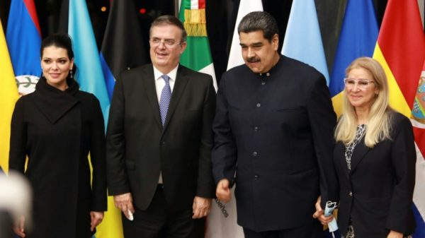 Venezuela's Maduro in Mexico on first foreign trip since US accusations