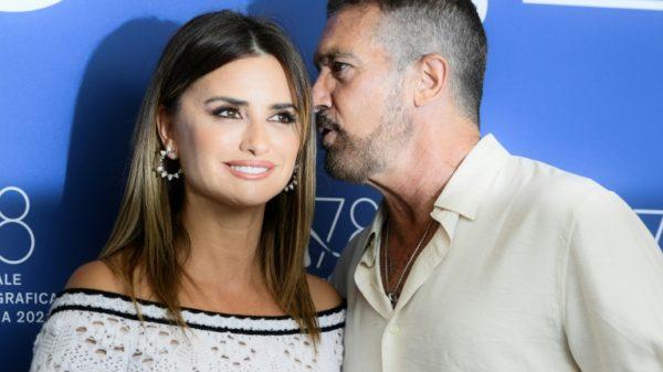 Banderas, Cruz poke fun at film biz excesses at Venice