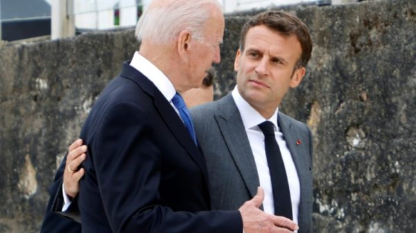 Macron, Biden agree to soothe tensions after submarine row