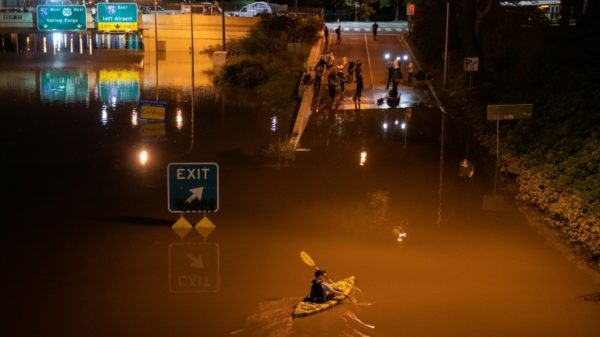 Climate change in the spotlight after northeast US floods