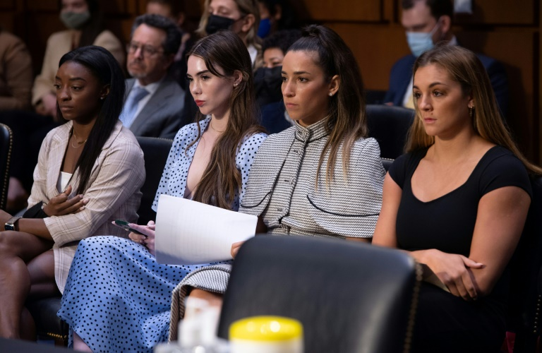 US gymnasts slam FBI, sports officials over Nassar abuse