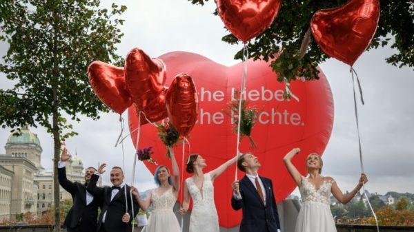 Same-sex marriage now legal in 30 countries