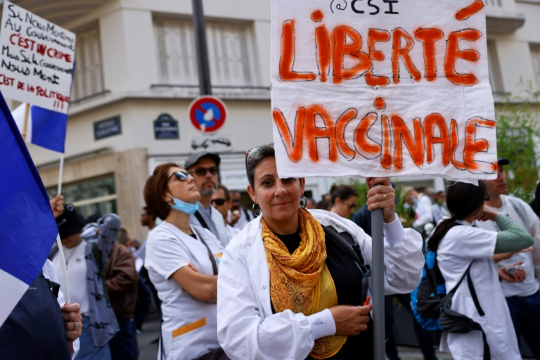 France gets tough on vaccine rule for health workers