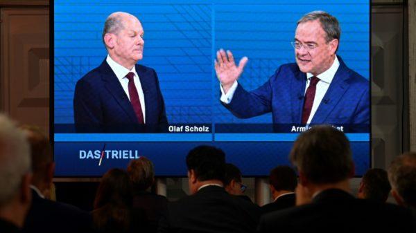 Crucial debate for Merkel party to turn race around