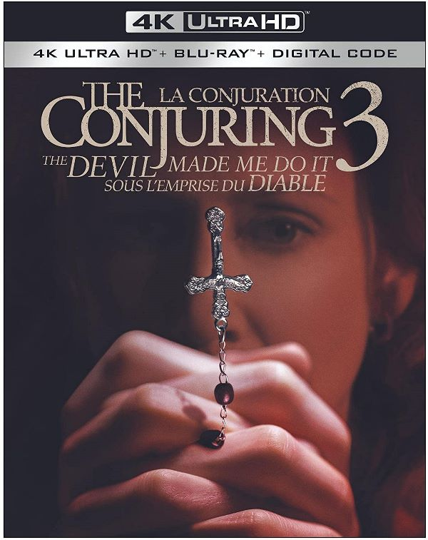 The Conjuring 3: The Devil Made Me Do It on 4K