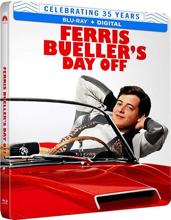 Ferris Buellers Day Off steelbook Blu-ray