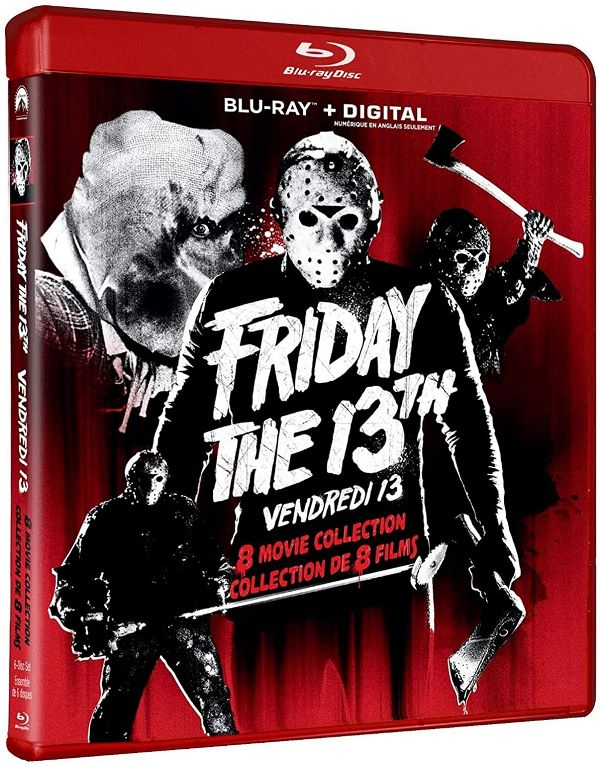 Friday the 13th 8-Movie Collection on Blu-ray