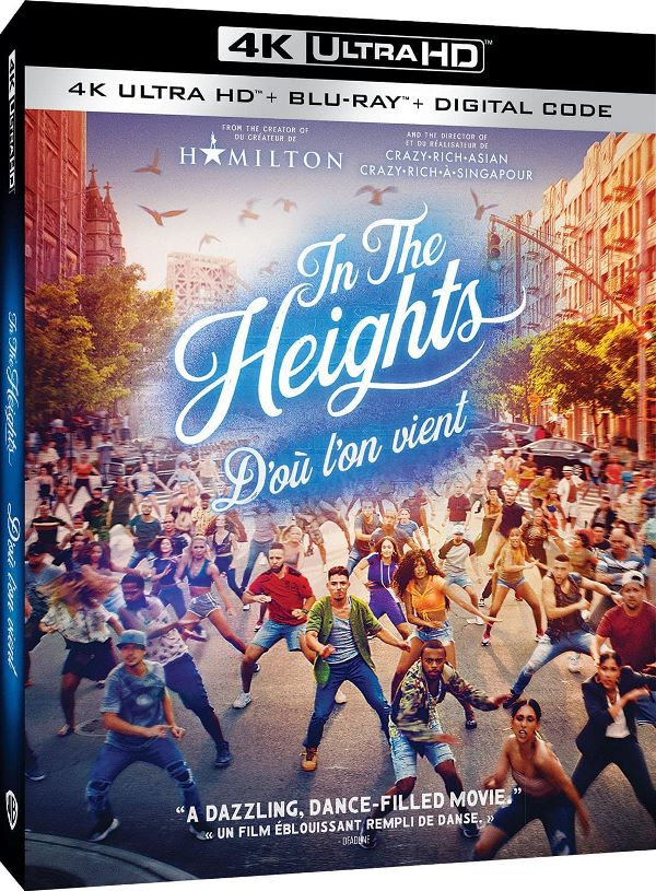 In the heights on Blu-ray