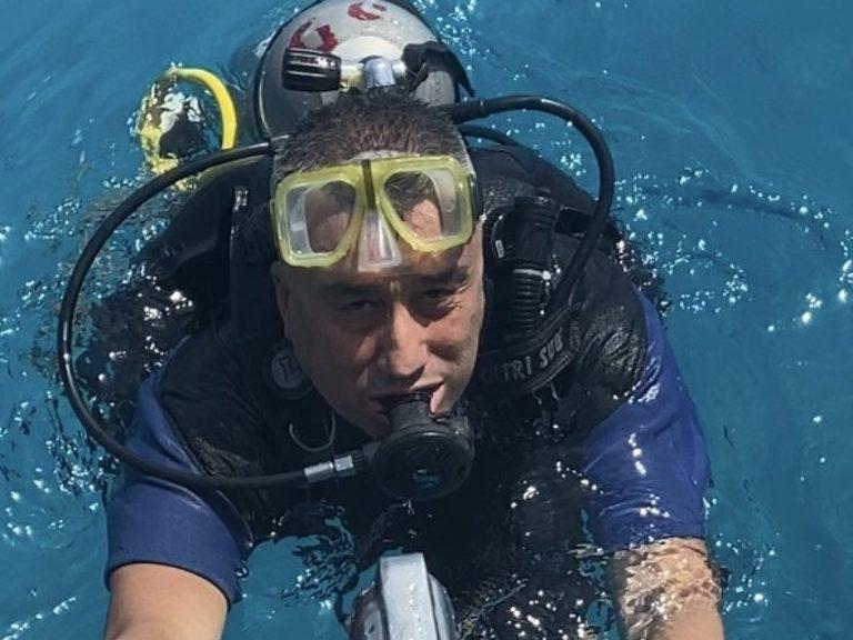 "Atanas ""Nasko"" Lazarov scuba diving"