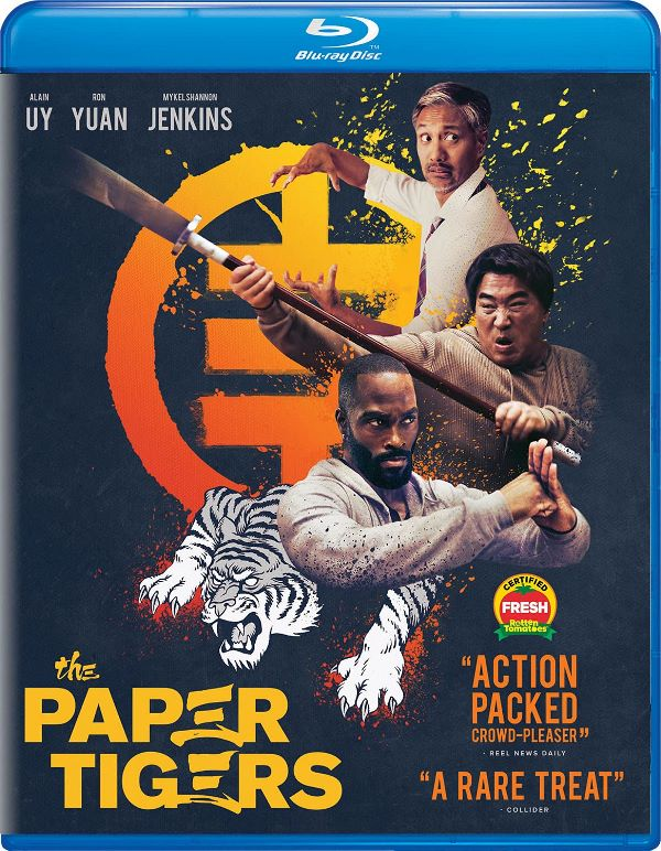The Paper Tigers on Blu-ray