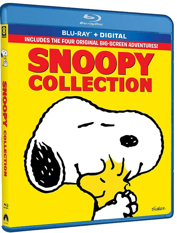 Snoopy 4-Movie Collection on Blu-ray