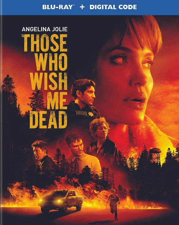 Those Who Wish Me Dead on Blu-ray