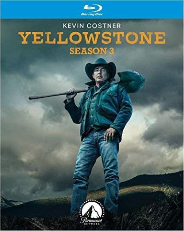 Yellowstone Season 3 on Blu-ray