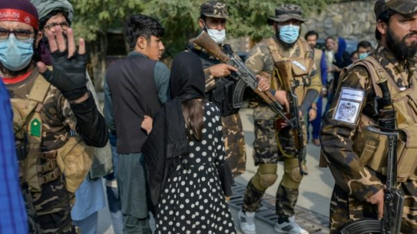 Taliban disperse women protesters with gunfire in Kabul