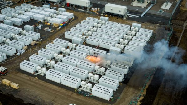 Coolant leak 'likely' sparked giant Tesla battery fire in Australia