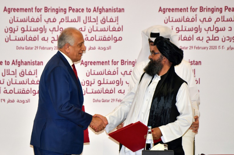 US envoy says Ghani exit scuttled Afghan power-sharing