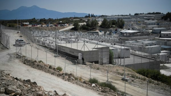 Greece inaugurates first 'closed' camp for asylum seekers