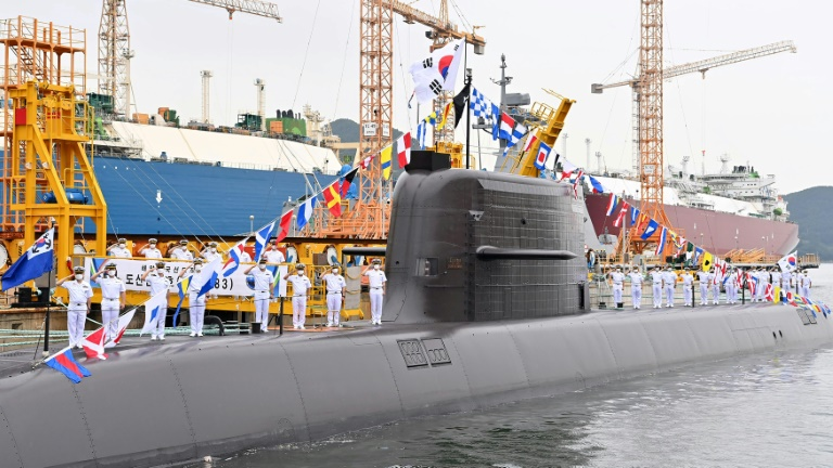 South Korea fires first submarine-launched ballistic missile