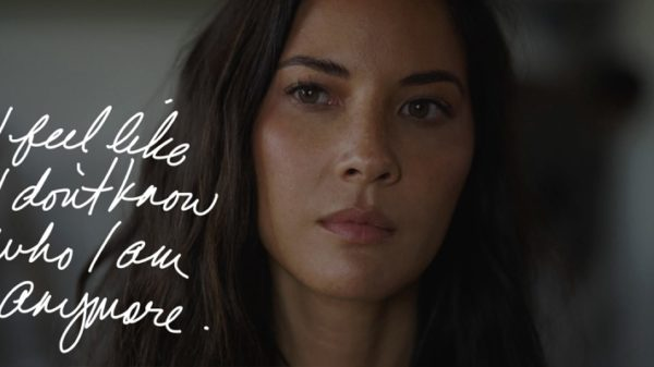Olivia Munn in a scene from 'Violet'