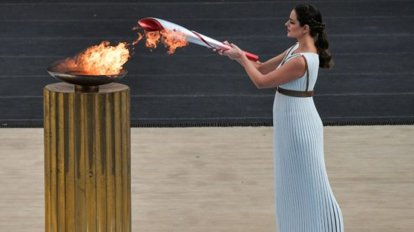 Olympic flame arrives in China ahead of 2022 Beijing Games