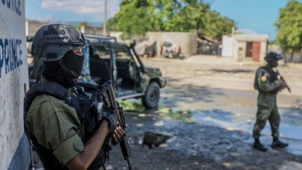 Widow of slain Haitian president gives testimony