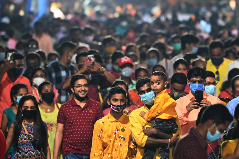 Indian festival crowds return as Covid horrors fade