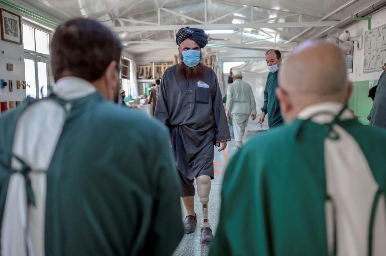 Afghan amputees recover alongside former enemies