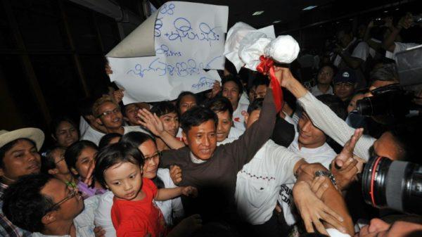 Myanmar activist arrested in junta raid: wife