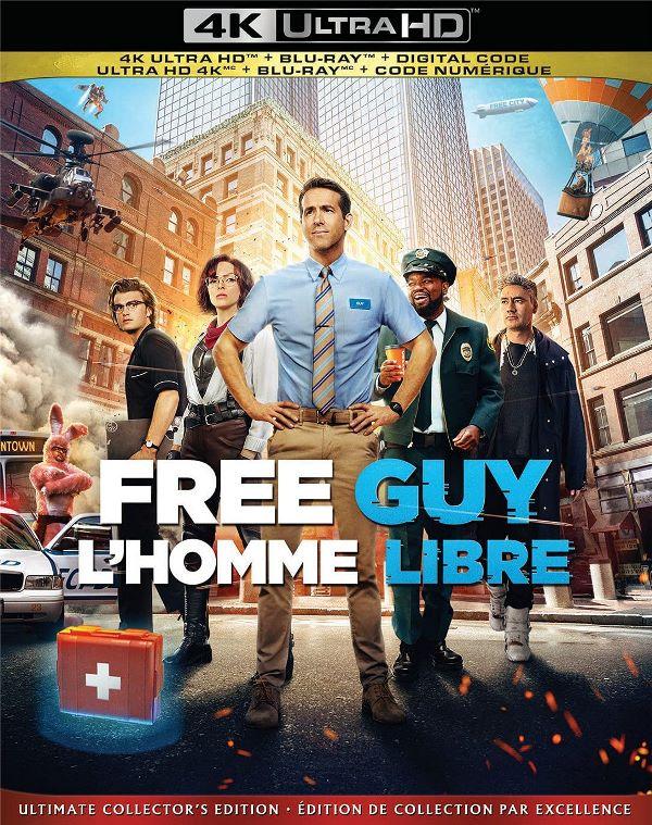 Free Guy on 4K