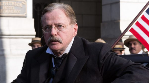 Aidan Quinn as Theodore Roosevelt in 'The American Guest'