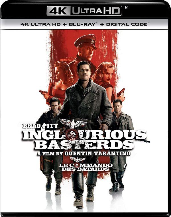 Inglourious Basterds on 4K