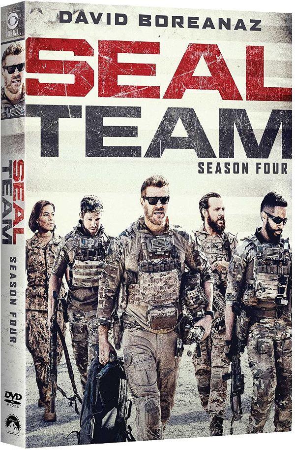 SEAL Team Season 4 on DVD