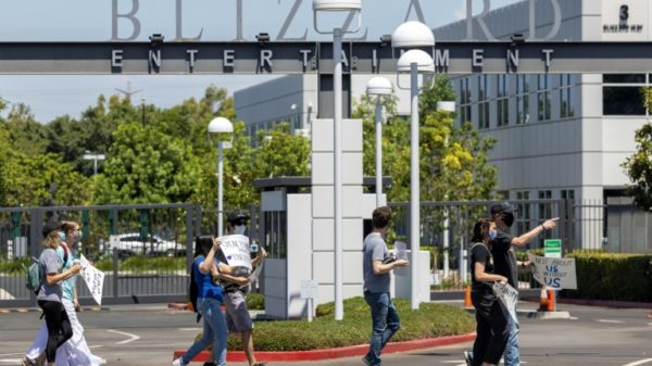 Over 20 'exit' gaming giant Activision Blizzard after harassment accusations