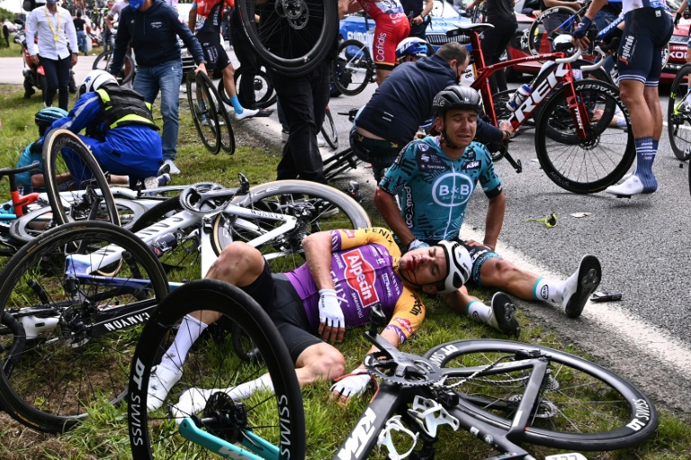 Tour de France fan who caused huge opening day crash goes on trial