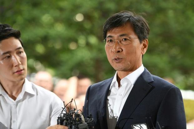 Ahn Hee-jung was jailed last year