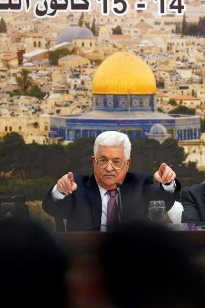 Palestinian president Mahmoud Abbas attacked the US ambassadors to Israel and the United Nations  Da...