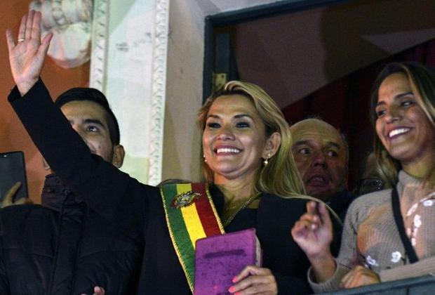 Jeanine Anez vowed to 'pacify' Bolivia after weeks of protest