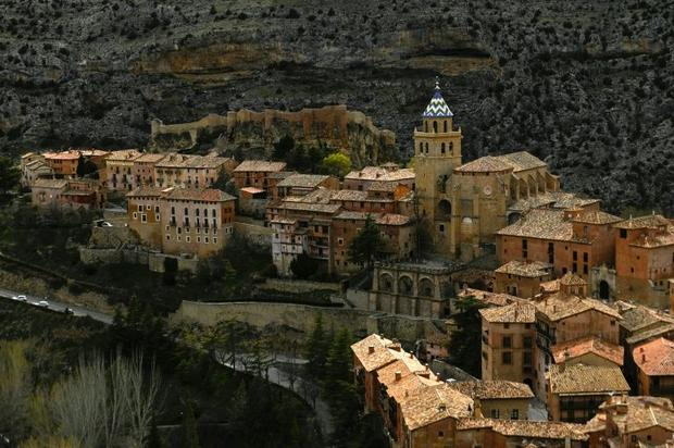 Albarracin  in eastern-central Spain  is able to draws tourists but towns nearby are fading away